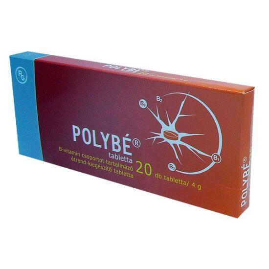 Polybe tabletta B-vitamin csop.tart.étrend-kieg. (20x)