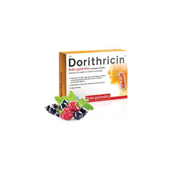Dorithricin szopogató tabletta Erdei gyümölcs (20x)