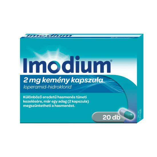 Imodium 2 mg kemény kapszula (20x)