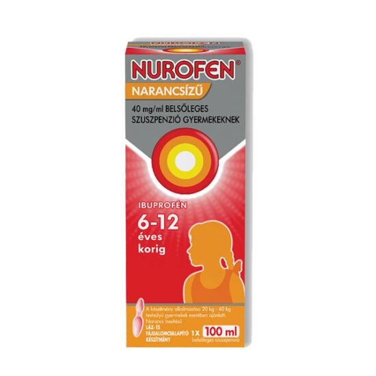 Nurofen  40mg/ml belsől.szuszpenzió gyerm.narancs (100ml)