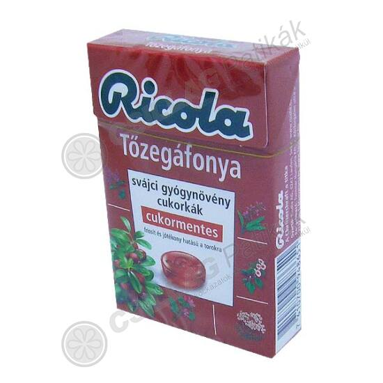 Ricola Cranberry cukormentes cukorka (40g)