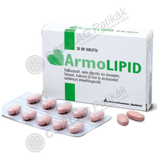 Armolipid tabletta (20x)