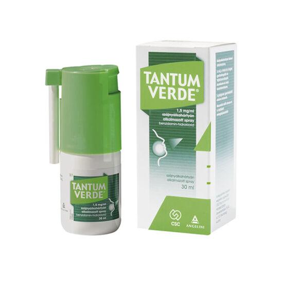 Tantum Verde 1,5mg/ml szájnyálkahártyán alk.spray (30ml)