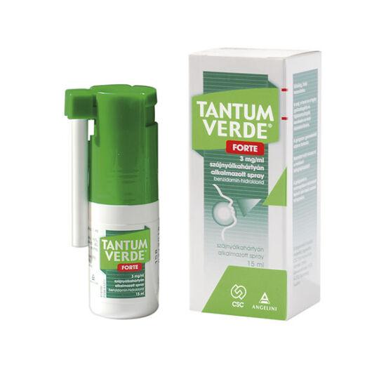 Tantum Verde Forte 3mg/ml szájnyálkahártyán a.spay (15ml)
