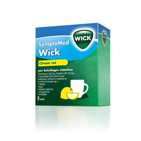 Symptomed Wick belsőleges oldathoz por citrom ízű (5x)