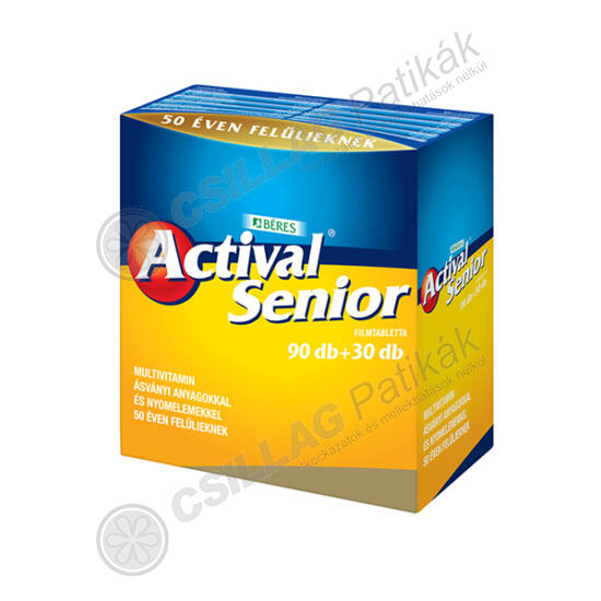 Actival senior filmtabletta (120x (90+30))