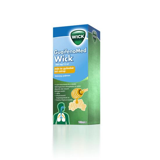 Wick GuaifenoMed 200mg/15ml méz/gyömbér szirup (180ml)
