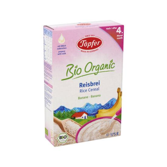 Töpfer Bio Organic gluténmentes banános rizspép