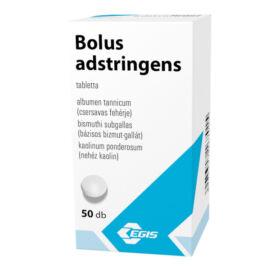 Bolus adstringens tabletta (50x)