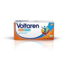 Voltaren Dolo 25 mg lágy kapszula (20x (átlátszatlan bub.))
