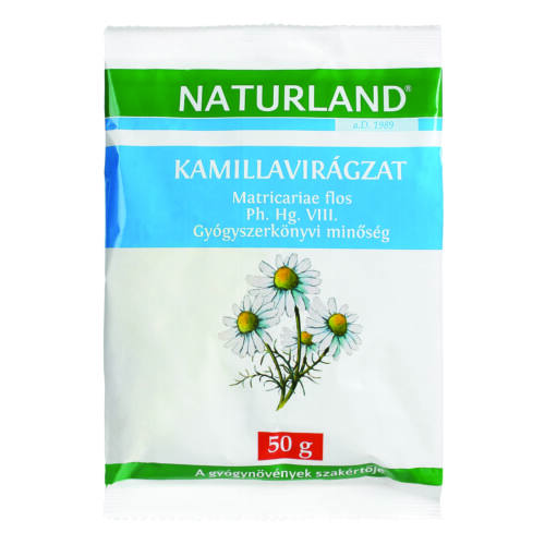 Kamillavirág  NATURLAND  (Chamomillae anthodium) (50g)