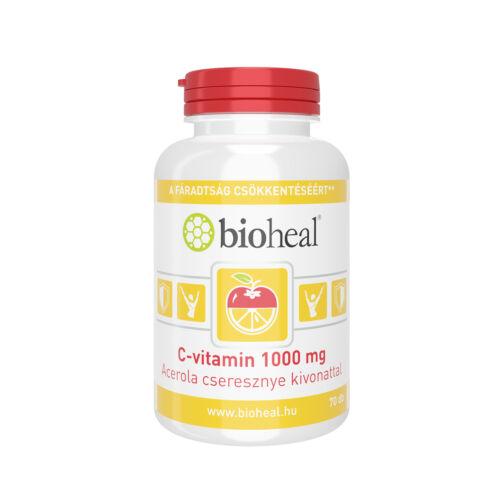 Bioheal C-vitamin 1000 mg Acerola tabletta (70x)