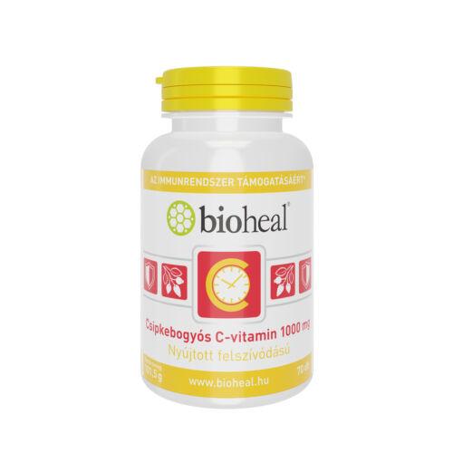 Bioheal C-vitamin 1000 mg Csipkebogyó retard ftbl. (70x)