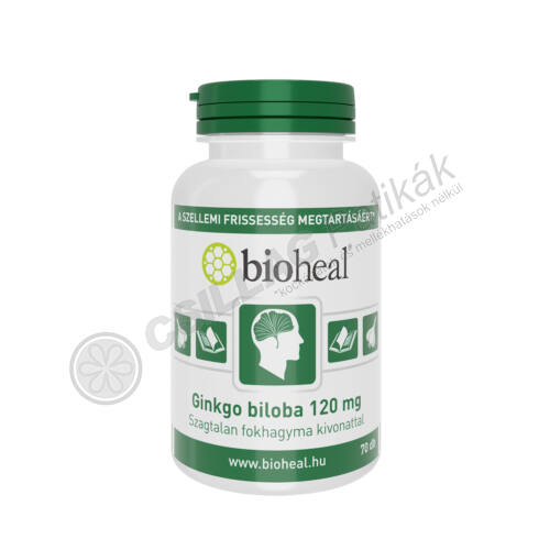 Bioheal Ginkgo Biloba 120 mg kapszula (70x)