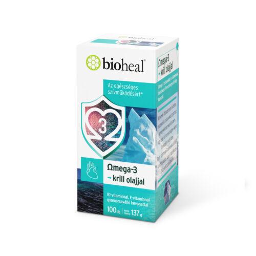 Bioheal Omega-3 Krill olajjal kapszula (100x)