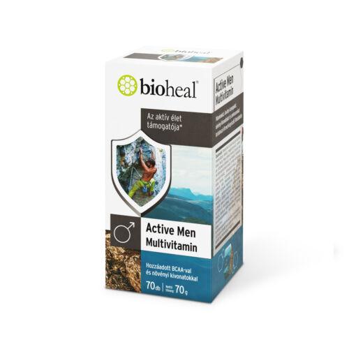 Bioheal Active Men multivitamin filmtabletta (70x)