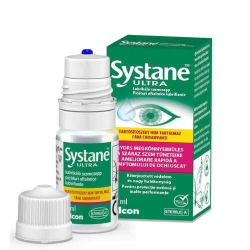 Systane Ultra szemcsepp tartósítószer mentes (10ml)