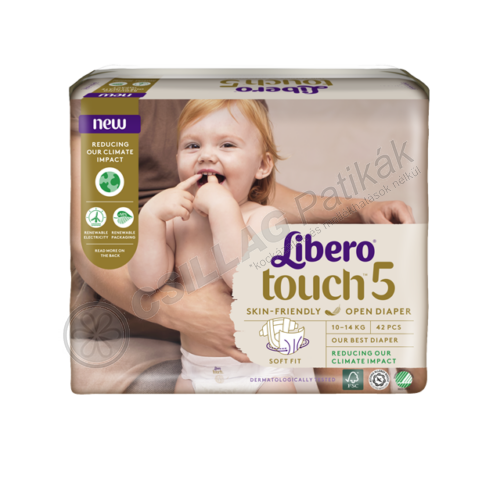 Libero Touch 5 Jumbo nadrágpelenka (42x)