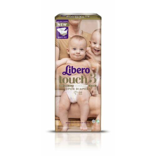 Libero Touch 3 Jumbo nadrágpelenka 4-8kg (50x)