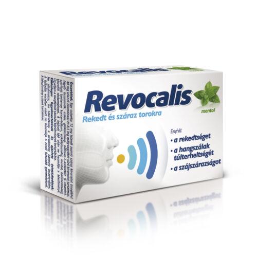 Revocalis szopogató tabletta Mentol (12x)