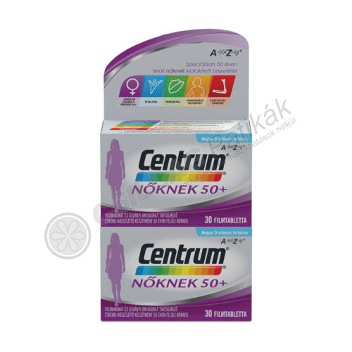Centrum Nőknek 50+ Multivitamin (30x+30x)