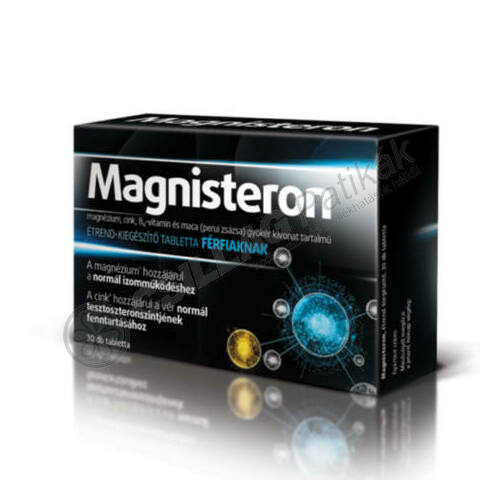 Magnisteron Magnézium tabletta Férfiaknak (30x)