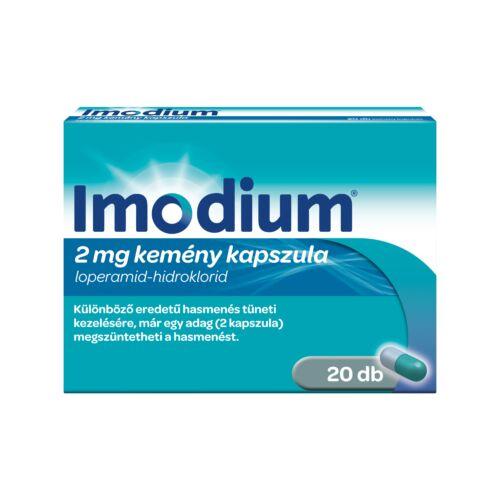 Imodium 2 mg kemény kapszula (8x)