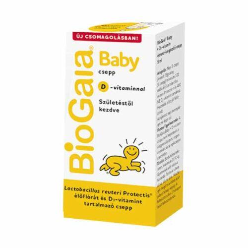 BioGaia Protectis Baby D3 étrkiegészítő csepp (5ml)