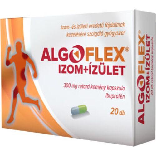 Algoflex Izom+ízület 300 mg retard kemény kapszula (10x)