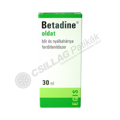 Betadine oldat (120ml)