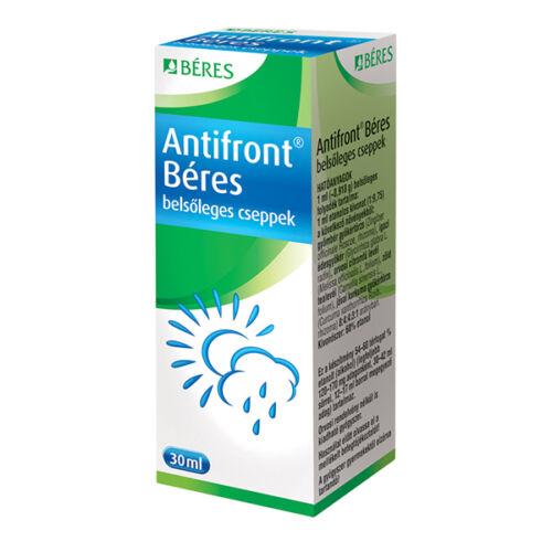 Antifront Béres belsőleges cseppek GYÓGYSZER (30ml)