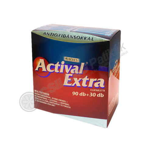 Actival Extra filmtabletta (90x+30x)