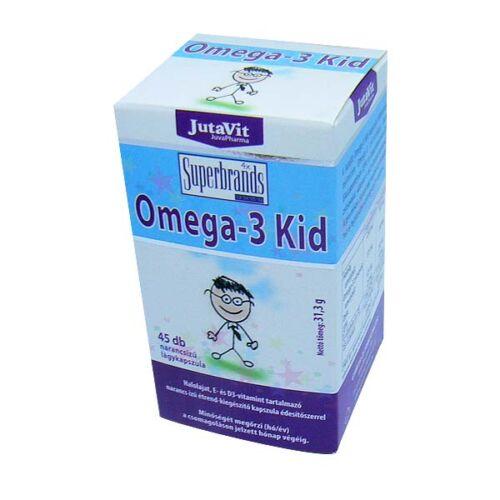JutaVit Omega-3 Kid kapszula (45x)