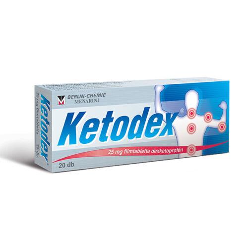Ketodex 25 mg filmtabletta (20x)