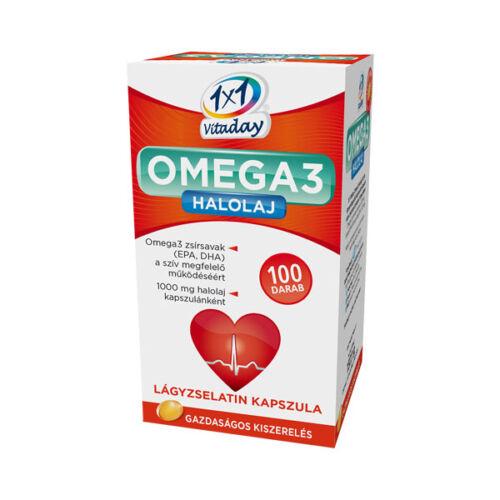 Innopharm 1x1 Vitaday Omega-3 kapszula (100x)
