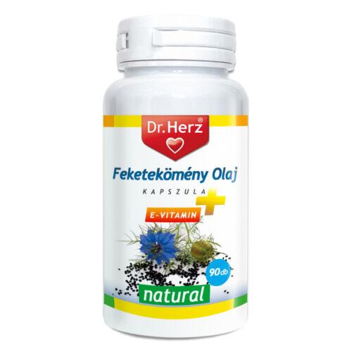 DR Herz Feketekömény olaj 500mg 90db lágyzselatin kapszula (90x)