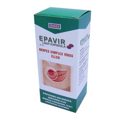 Epavir kapszula (30x)