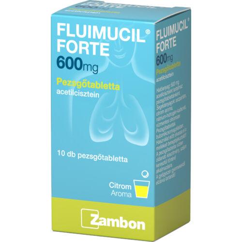 Fluimucil 600 mg pezsgőtabletta (10x)