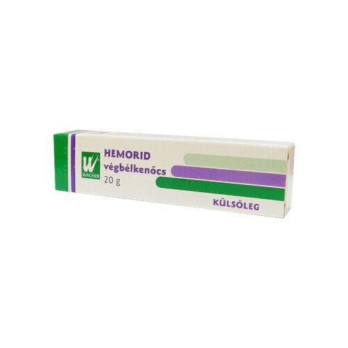Hemorid végbélkenőcs (20g)