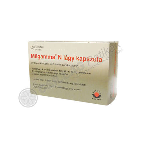 Milgamma bevont tabletta (50x)