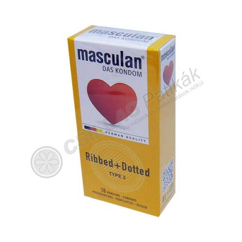 Óvszer Masculan 3 (10x)