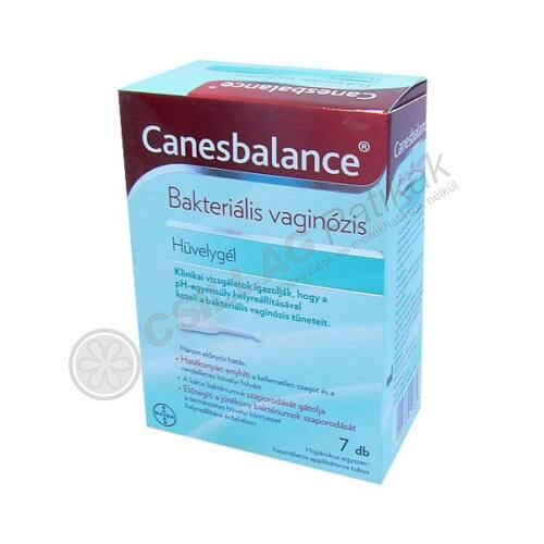 Canesbalance hüvelygél (7x5ml)