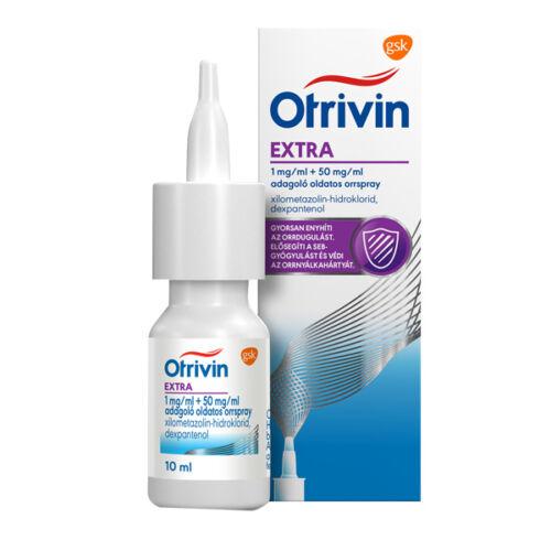 Otrivin Extra 1mg+50mg/ml adagoló old. orrspray (10ml)