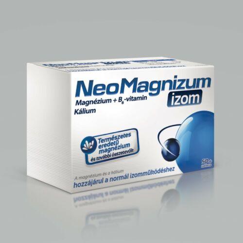 NeoMagnizum izom magnézium tabletta (50x)