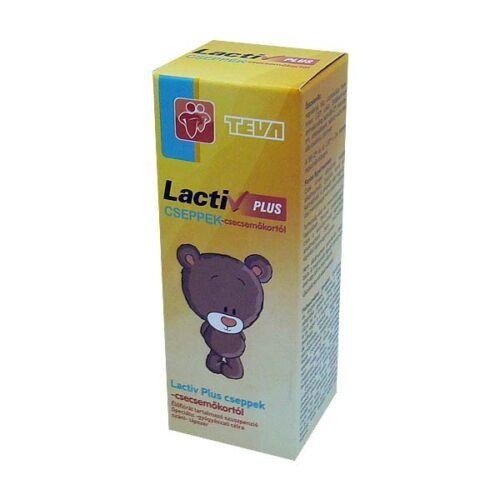 Lactiv Plusz cseppek élőflórát tartalmazó szuszpenzió csecsemőkortól 8g (28 adag)