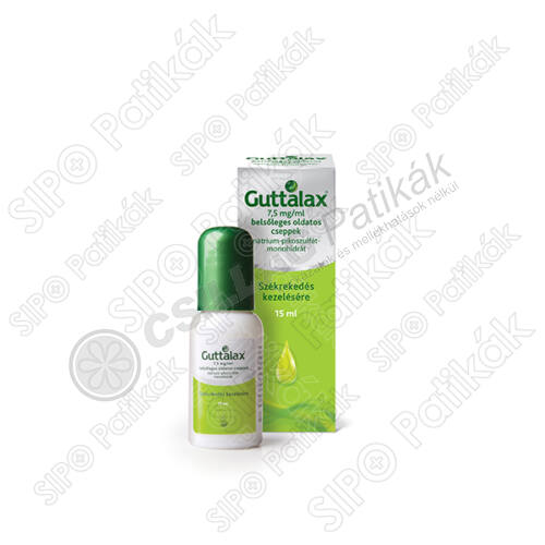Guttalax 7,5mg/ml belsőleges oldatos cseppek (15ml)