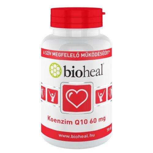 Bioheal Koenzim Q10 szerves Szelén E- és B1-vit. k (70x)