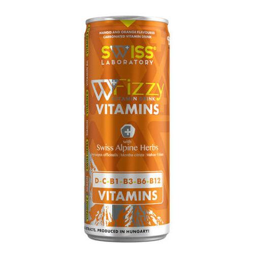 Swiss Fizzy Vitamins C D vit. ital brazil mangó (250ml)