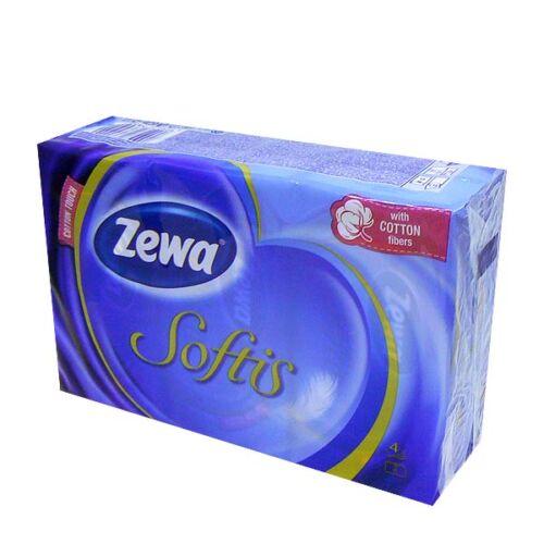 Papírzsebkendő Zewa Softis (6x10db)