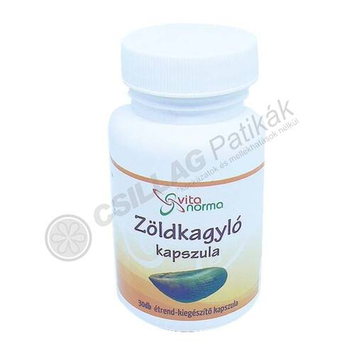 Vitanorma Zöldkagyló kapszula (30x)